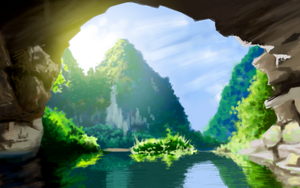 Earth Porn (android tablet painting) by Meecho