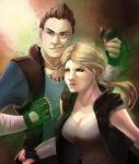 Sonya And Johnny by Lady-Was-Taken
