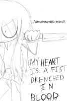 My Heart is a Fist by UnderstandDarkness