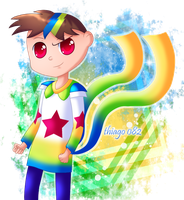 Super Frank Anime Style by Thiago082