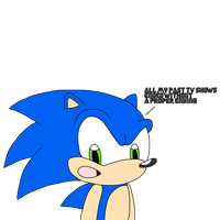 Sonic talks about his TV Shows by SuperMarcosLucky96