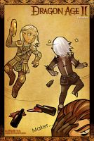 dance-party-Fenris and Zevran by uuyly