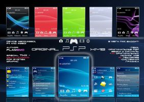 ORIGINAL PSP XMB by FlamEmo