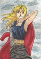 Edward Elric: Smile by Mookyloo-Old