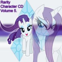 Rarity Album Cover 5 by YuiRainbowStar