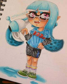 First Inkling Loadout by Felicia64anime