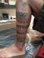 Maori tattoo first photo by flaviudraghis