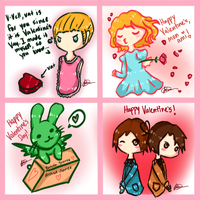 Happy Valentine's Day! (APH) by FairyBlueSoul