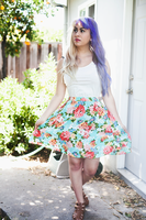 Floral dress by candypow