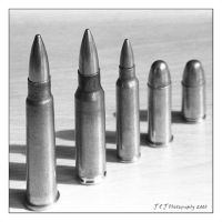Bullets by JJPhotography