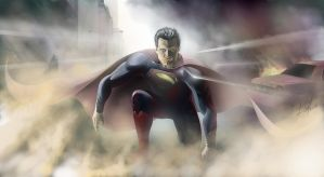 Man of steel by Zhekan