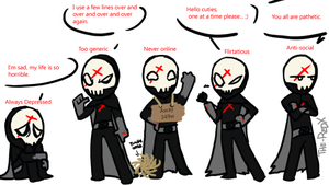 Red X Rpers Parody by The-RedX