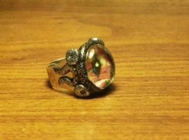 Dragon eye ring by Babonga