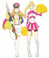 Honor Guard +Cheerleading skin imagine !! by envyra