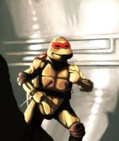 TMNT 1990 movie Raph by JodyBriggs