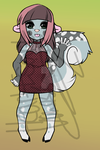 Anthro Squirrel Mix Adopt ~OPEN~ by Esarts-Adopts