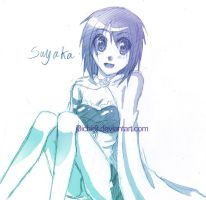 Sayaka by hushaby-monster