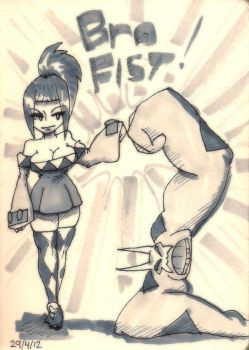Notebook - Cerebella Bro Fist by Rafanas