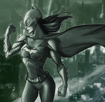 Batgirl Commission by dartbaston