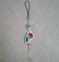 MLP Rainbow Dash Cellphone Charm by AmyAnnie14