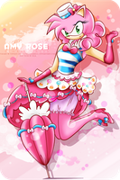 Amy Rose - Pinkie Dress by selinmarsou