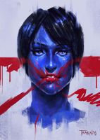 Blue-Red II by SalvadorTrakal