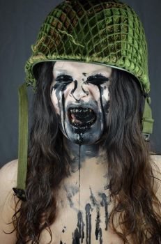 PaintFaceStock7 by Valerie-Mrosek-Stock