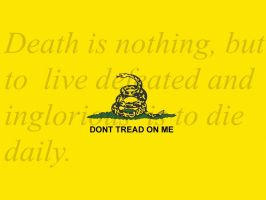 Dont Tread On Me by wiredforsoundd