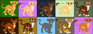 Disney Cubs by StephyWhoo