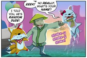 Rocket Fox 11 panel 1: By Any Other Name by StacyKing