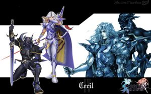 Dissidia Cecil Wallpaper by Shadow-Heartless