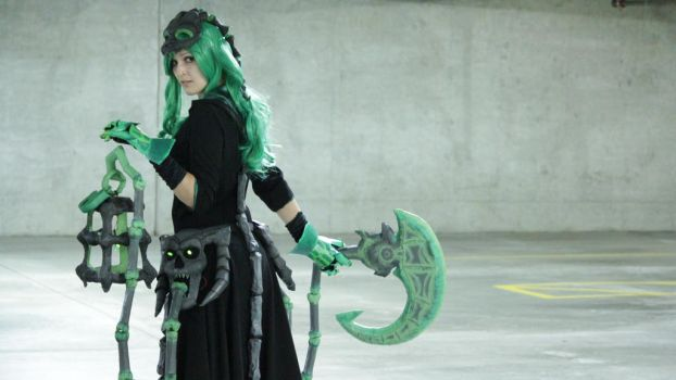 Female Thresh Cosplay View 2 by 9Flame