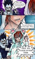 Shinigami and the Brain by Elf-chuchu