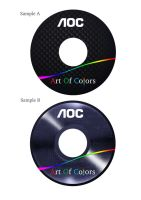 Art of colors cd label designs by spidey0318