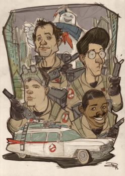 Ghostbusters by DenisM79