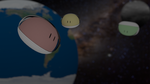 Dango in Space by telimonster
