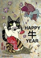 Happy Niu Year by tamaow