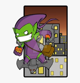 Green Goblin by superdot