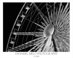 Ferris Wheel in Niagara Falls by emanuelmelo