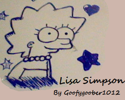 Lisa Simpson by GoofyGoober1012