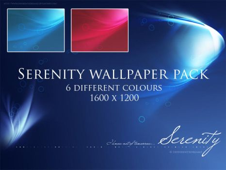 Serenity Wallpaper Pack by differentxdreamz
