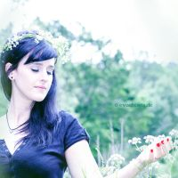 I saw a fairy in the woods 2 by EvaShoots