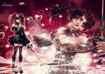 Wallpaper Amy Sorel Soul Calibur by GothicYola