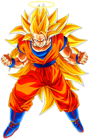 Goku SS3 2 by alexiscabo1