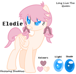 Elodie - Charcter Sheet by Hazesong