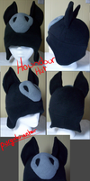 Pokemon Fleece Hat: Houndour by PurgatorianHeir