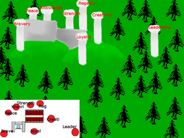 Rough map of The Sanctuary by MicciB