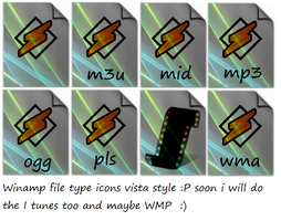 Winamp filetype icons ver 2 by tonev