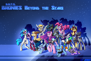 Bronies Beyond the Stars - The wallpaper by Atrixy