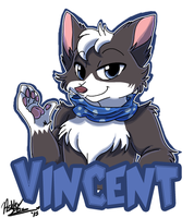 Badge Commission- Vincent by xAshleyMx